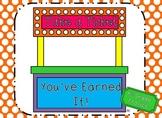 Take A Ticket - You've Earned It!