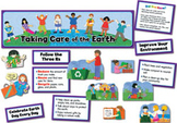 Taking Care of the Earth Mini Bulletin Board Set