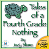 Tales of a Fourth Grade Nothing Novel Unit CD~Common Core