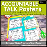 Talk It Up! (Chevron) Accountable Talk/ Collaborative Conv
