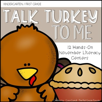 Talk Turkey To Me!  {12 Hands-On Literacy Activities for t