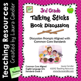 Reading Discussion Task Cards - 3rd Grade CCSS