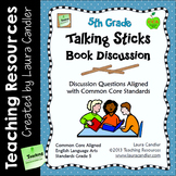 Reading Discussion Task Cards - 5th Grade CCSS