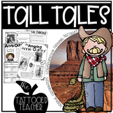 Tall Tales Reading Unit (includes passages, organizers, wr