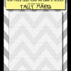 Tally Marks for Calendar Time