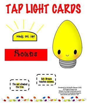 Tap Lights Nouns