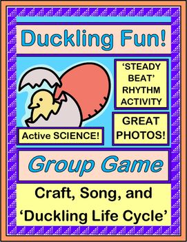 """""""Duckling Fun!"""" - Game, Craft, and Song about Hatching Ducks!"""
