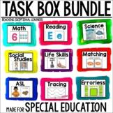 Task Card Set GROWING BUNDLE- Special Education