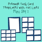 Task Card Template - Mini Set 1 - frames - borders