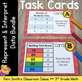 Task Cards and Answer Sheets Bundle for Third Grade - 3.MD
