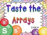 Taste the Arrays-CCSS 2.OA.4