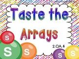 Taste the Arrays-CCSS 2.OA.4