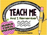 Teach Me and I Remember: Task Boards for 3rd Grade CCSS Re