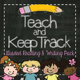 Teach and Keep Track: Reading and Writing Pack