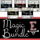 Long Vowels: a_e, o_e, i_e, u_e and Review BUNDLE MAGIC E