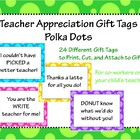 Teacher Appreciation Pun Gift Tags