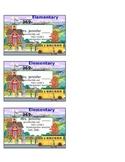 Teacher Info Magnet