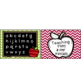 Teacher Note Card and Post Card Set (Appreciation)