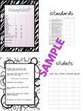 OTES Ohio Teacher Organization Binder-Common Core-Evaluation