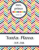 Teacher Planner 2015-2016 {Printable and Customize!}