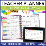 Teacher Planner - Chevron
