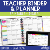 Teacher Planner - Chevron {Free Updates Every Year}