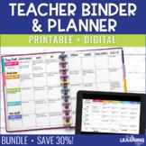 Teacher Planner - Polka Dots