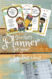 Teacher Planner for 2015