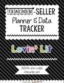 Teacher-Seller Planner & Data Tracker ~ Calendar, Social M