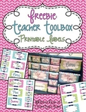Teacher Toolbox - Printable Lables