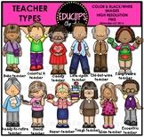 Teacher Types Clip Art Bundle