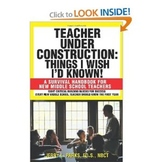 """Teacher Under Construction: Things I Wish I'd Known!"""