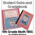 Teacher and Student Data and Gradebook (Texas 4th Grade Ma