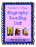 Teacher's College Biography Reading Unit for 3rd Grade