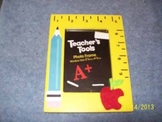 Teacher's Tools Picture Frame