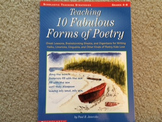 Teaching 10 Fabulous Forms of Poetry (Grades 4-8)