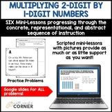Teaching 2-Digit Multiplication (Concrete, Representationa