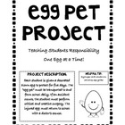 Teaching 2nd Graders Responsibility: Egg Pet Project