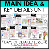Teaching Key Details and Main Idea to the Primary Student