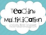 Teaching Multiplication {for beginners}