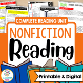 Teaching Non-Fiction Reading (A Comprehensive Unit On Skil