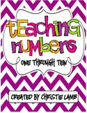 Teaching Numbers {1-10}