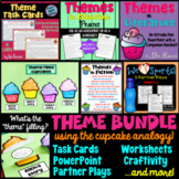 Theme Unit {BUNDLE}: Task Cards, Craftivity, Worksheets, P