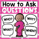 Teaching Young Children How to Ask Questions  {A Common Co