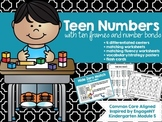 Teen Number Math Centers- EnageNY Inspired