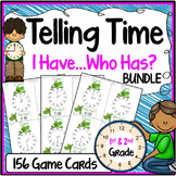 Telling Time I Have, Who Has Game Bundle