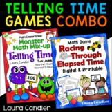 Telling Time / Elapsed Time Game Combo