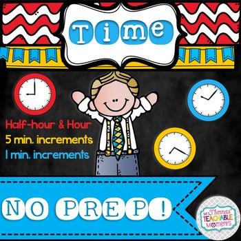 NO PREP! Telling Time