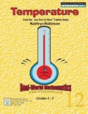 Teaching Temperature | Daily Math Centers, Worksheets | 3r