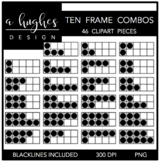 Ten Frame Combos{Graphics for Commercial Use}